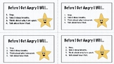 """Before I Get Angry"" Behavior Intervention Cards"