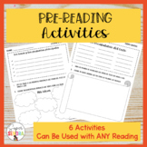 """""""Before Reading"""" Activities for the Spanish Classroom"""
