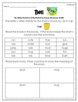 """""""Bell"""" Reading, Writing, & Comprehension Activities"""