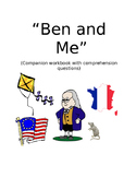 """""""Ben and Me"""" ELA Companion Workbook & Activities"""