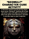 """Beowulf"" Character Cube Activity"