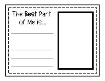 """""""Best Part of Me"""" Writing Set"""