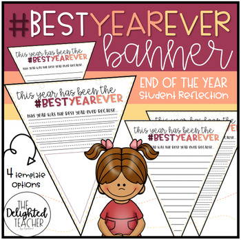 #BestYearEver Banner {End of the Year Reflection Activity}