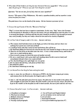 """""""Beware of the Dog"""" Review Worksheet (or Test)"""