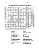 """""""Beyond the Sea"""" Vocabulary Word Search"""