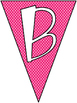 """""""Bienvenidos"""" Pennant Banner - Welcome!"""