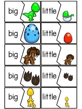 """Big Dino, Little Dino"" (Opposites Emergent Reader Dollar Deal)"