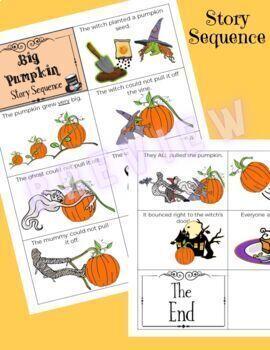 """Big Pumpkin"":  Book Companion for Speech Therapy (*NEW*)"
