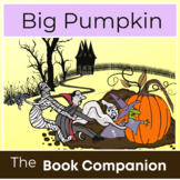Big Pumpkin:  Book Companion for Speech Therapy