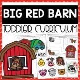 """Big Red Barn"" Toddler Packet"