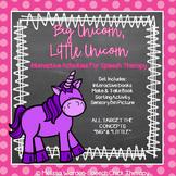 """Big Unicorn, Little Unicorn"" Interactive Activities for S"