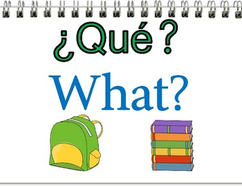 *Bilingual* Question Posters with Images