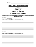 """""""Bird in a Box"""" By Andrea Davis Pinkney CHAPTER PREDICTION UDL WORKSHEET"""