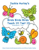 -Birds - Birds - Birds - Teach it! Test it! Vocabulary