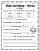 """""""Birds Flap and Sing"""" Guided Reading Program Work"""
