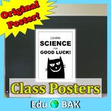 """Black Cat"" Science Poster Printable"