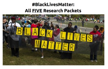 #BlackLivesMatter: All 5 Research Packets
