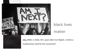 #BlackLivesMatter - Understanding Why the Movement Exists
