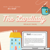 """Mood Assignment for """"The Landlady"""" by Roald Dahl"""