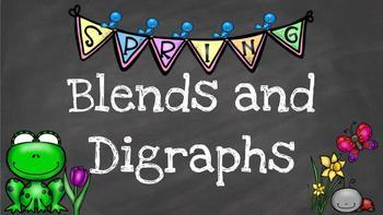 *Blends and Digraphs Digital Task Cards*