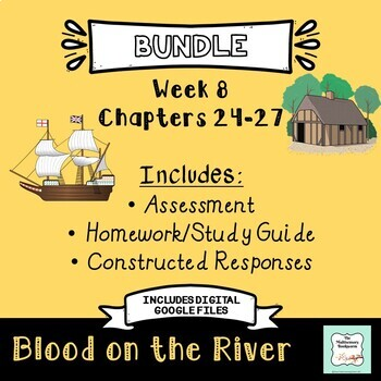 """""""Blood on the River"""" BUNDLE Chapters 24-27 (end)"""