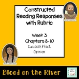 """""""Blood on the River"""" Constructed Response (with rubric) Chapters 8-10"""