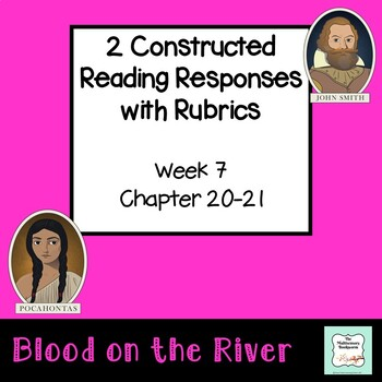 """""""Blood on the River"""" EXIT TICKET/cause & effect (with rubric) Chapter 21"""