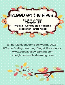 """""""Blood on the River"""" EXIT TICKET/cause & effect (with rubric) Chapter 25"""