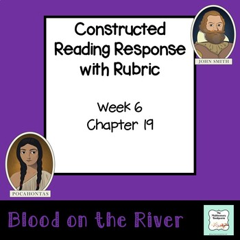 """""""Blood on the River"""" EXIT TICKET  (with rubric) Chapter 19"""
