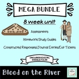 """Blood on the River"" MEGA BUNDLE -Covers the entire book for 8 Weeks"