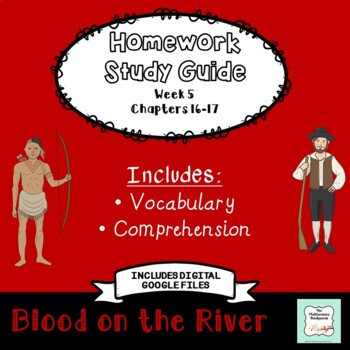 """""""Blood on the River"""" by Elisa Carbone (Study Guide/Homework) Chapters 16-17"""