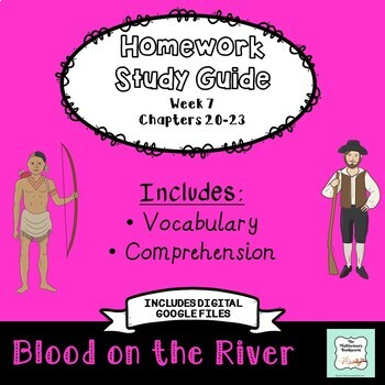 """""""Blood on the River"""" by Elisa Carbone (Study Guide/Homework) Chapters 20-23"""