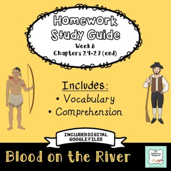 """Blood on the River"" by Elisa Carbone (Study Guide/Homework) Chapters 24-27"