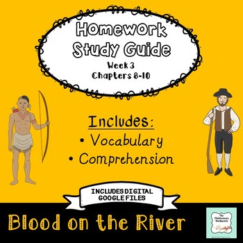 """Blood on the River"" by Elisa Carbone (Study Guide/Homework) Chapters 8-10"