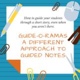 Blues Ain't No Mockin' Bird Guide-o-Rama--Editable Guided