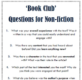 """Book Club"" Questions"