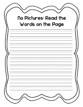 """""""Book With No Pictures"""" Class Book"""