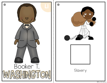 { Booker T. Washington } Black History Month Adapted Book Set