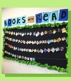 """Books We've Read"" Bulletin Board Display EDITABLE"