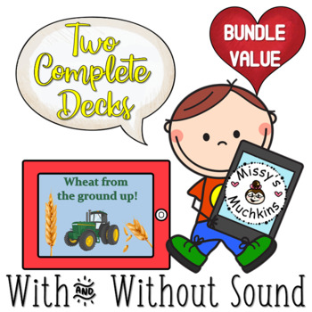 Agriculture BUNDLE! Wheat From the Ground Up - with and without audio!