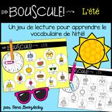 {Bouscule! L'été} A game to practice reading summer vocabu