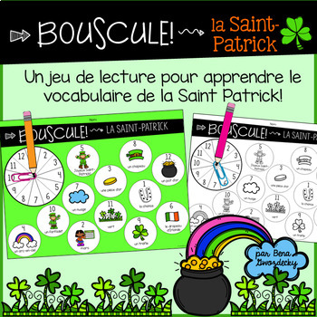 {Bouscule! La Saint-Patrick} A game to practice reading in French