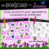{Bouscule! Le Printemps} A game to practice reading in French