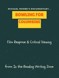 """""""Bowling For Columbine"""" Film Response: Critical Viewing"""