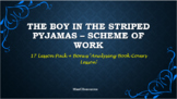 'Boy in the Striped Pyjamas' Entire unit of work!