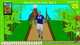 (Brain Break) Exercise Adventure Video Vol.03 - Dinosaur Theme