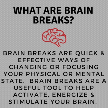 """""""Brain Breaks"""" Bulletin Board"""