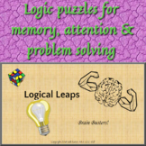 ★ Brain Busters ★ Logic Puzzles - Beginner
