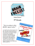 """""""Brain Freeze!"""" 3rd Grade Number Patterns Common Core Game"""
