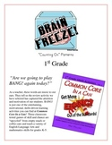 """""""Brain Freeze!"""" Counting On Patterns 1st Grade Common Core Game Packet"""